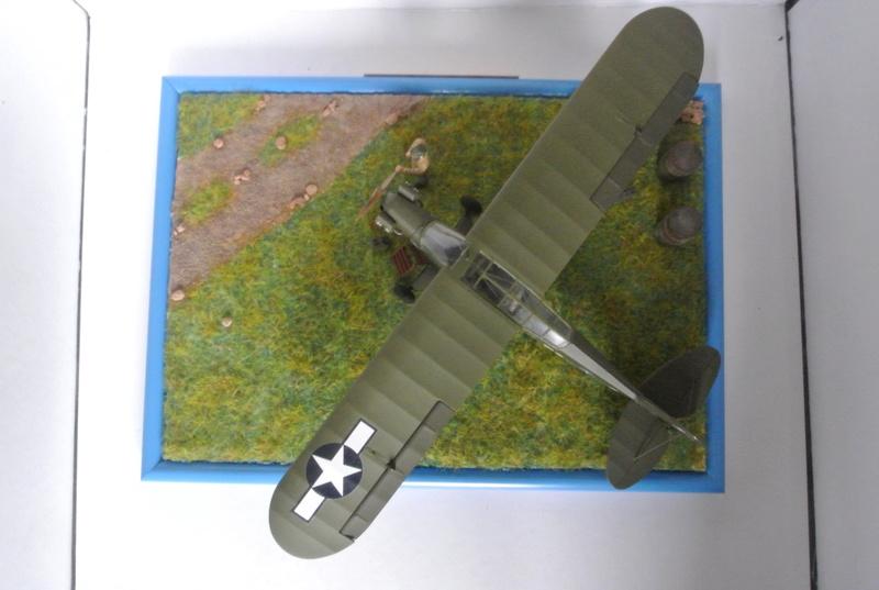 Piper Cub l-4 RAC 2E DB ( bronvo et déco JAPmodel ) 1/35 3011