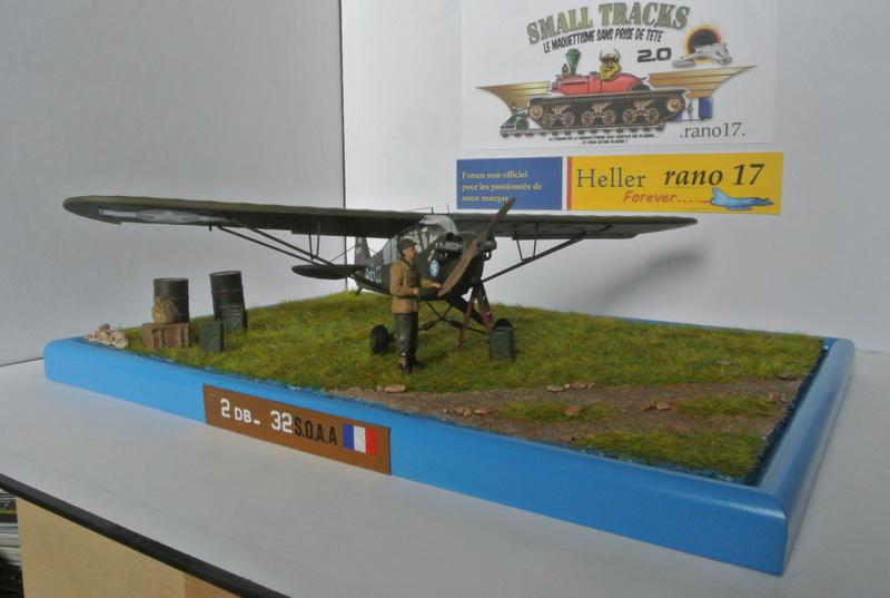 Piper Cub l-4 RAC 2E DB ( bronvo et déco JAPmodel ) 1/35 3110