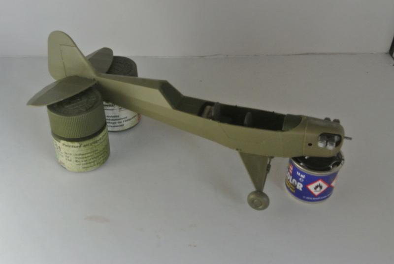 Piper Cub l-4 RAC 2E DB ( bronvo et déco JAPmodel ) 1/35 713