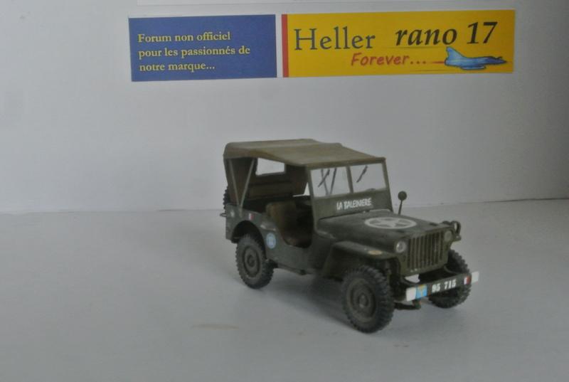 La Baleinière RBFM 2e DB , Jeep Italeri 1/35 et déco JAP Model  Dsc_3910