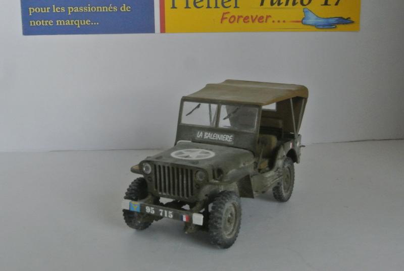 La Baleinière RBFM 2e DB , Jeep Italeri 1/35 et déco JAP Model  Dsc_3911