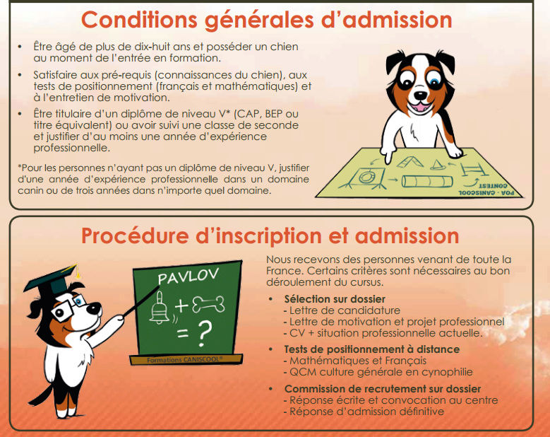 test de positionnement pour rentrer dans forma educatuer canin Test_p10