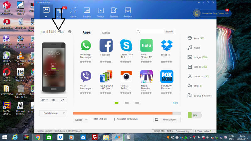 How to Backup and Restore  Your android files/data  in your Computer Screen11
