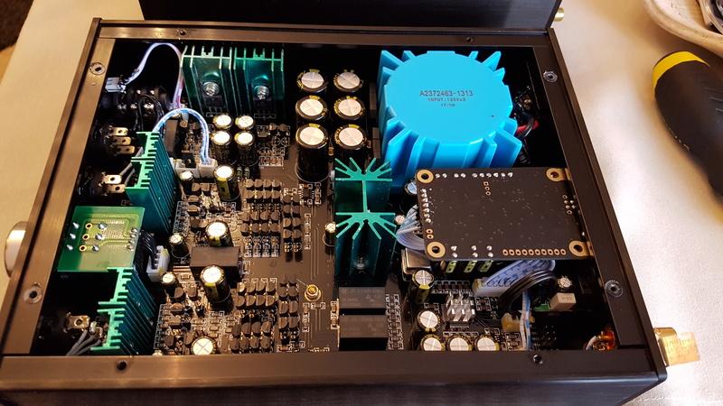 Nuovo ampli cuffia Audio gd NFB-11.28  20170613