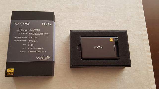 (To) vendo amplificatore portatile Topping NX1S 20170814