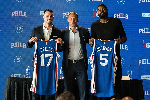 LE JOURNAL DES SIXERS Redick10