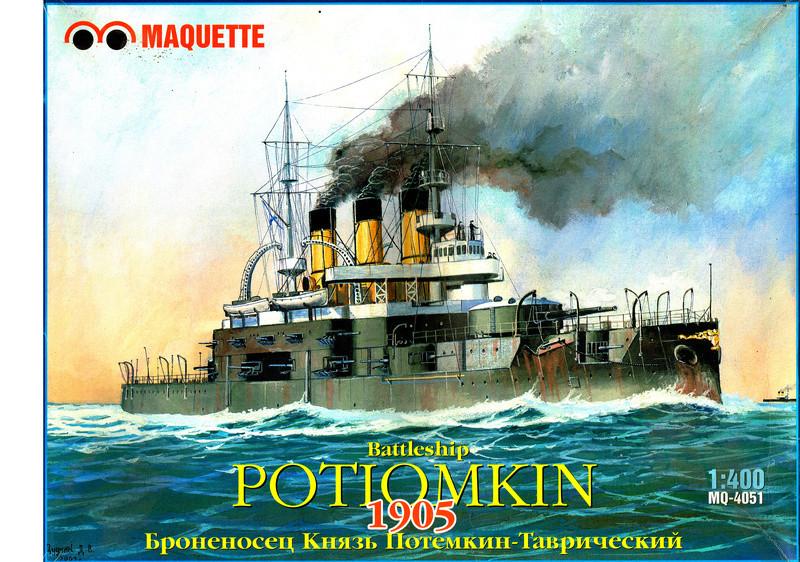 Cuirasse POTEMKINE 1/400ème Réf L 780 Potemk10