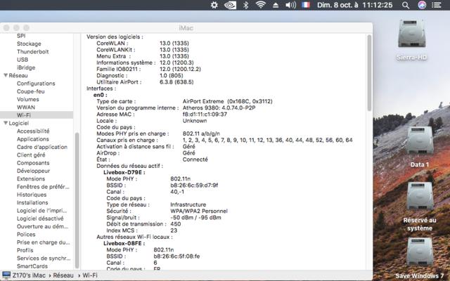 Sondage pour carte Wifi et bluetooth Captu125