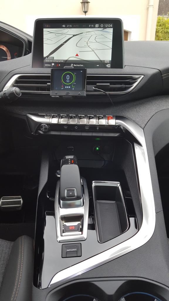 Ou est-il placé dans votre voiture ? 710