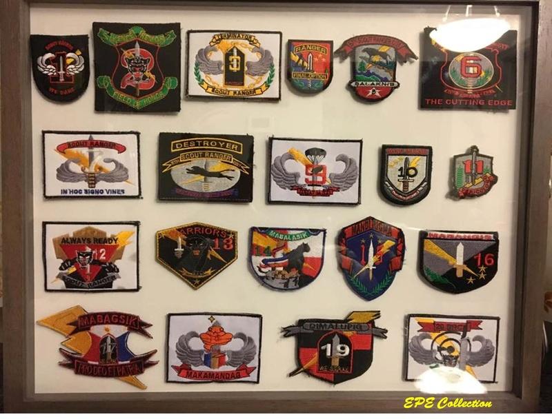 Scout Ranger Unit patches Complete Set Src_co11