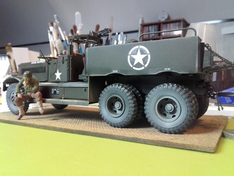 US M19 Tank Transporter MERIT 1/35 - Page 2 20170813