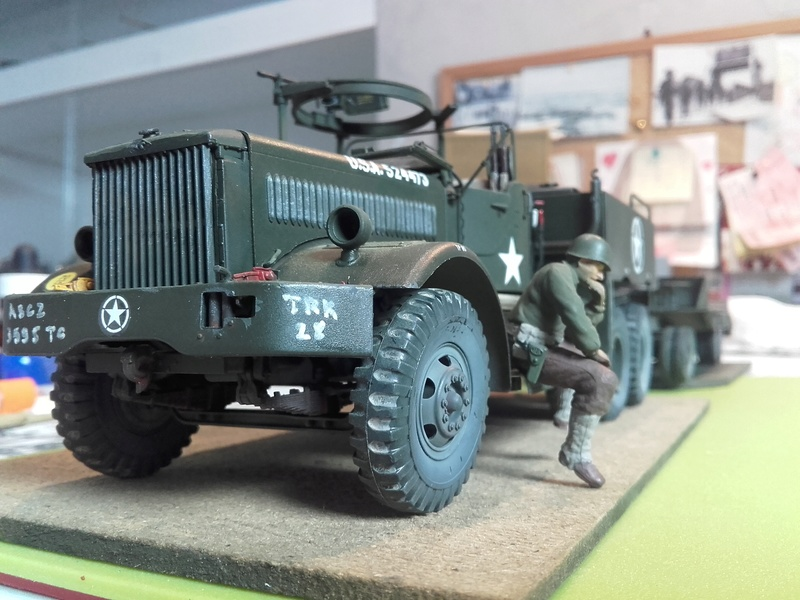 US M19 Tank Transporter MERIT 1/35 - Page 2 20170814