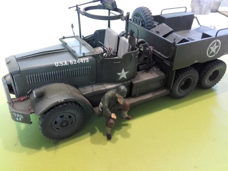 US M19 Tank Transporter MERIT 1/35 - Page 3 20170818