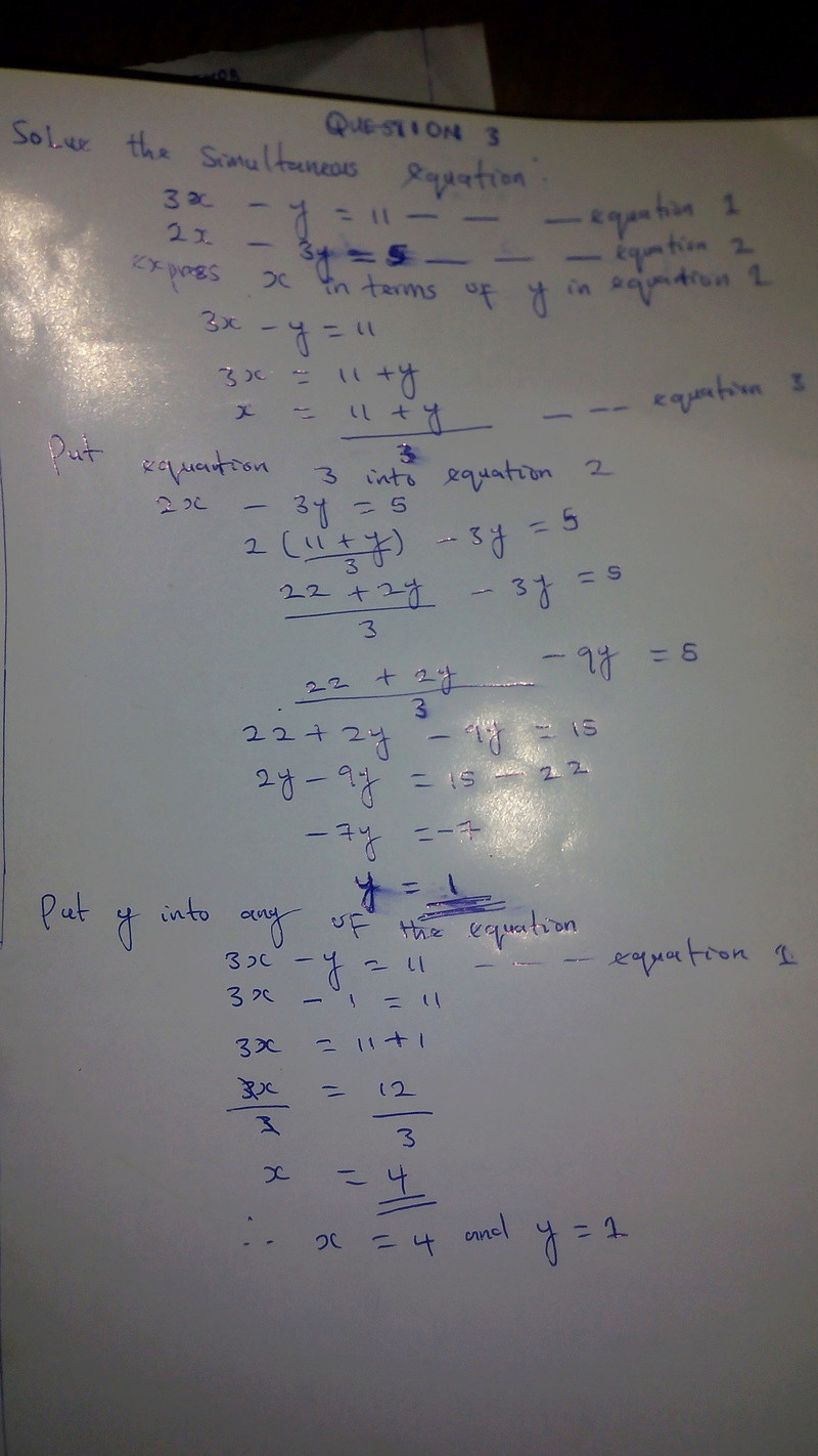 [MATHEMATICS]  SIMULTANEOUS EQUATION QUESTIONS AND  SOLUTION PART 1 Img_2012