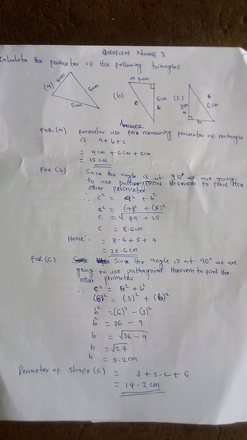 [MATHEMATICS] MENSURATION PART2 '' FIND THE PERIMETER OF A SHAPE ''   Img_2017