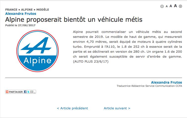 2020 - [Alpine] GT 4 portes - Page 2 Screen15