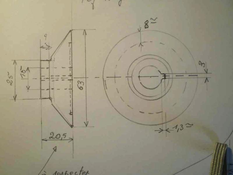 Améliorer le système des flasque concernant la scie kity 617 Scd61711