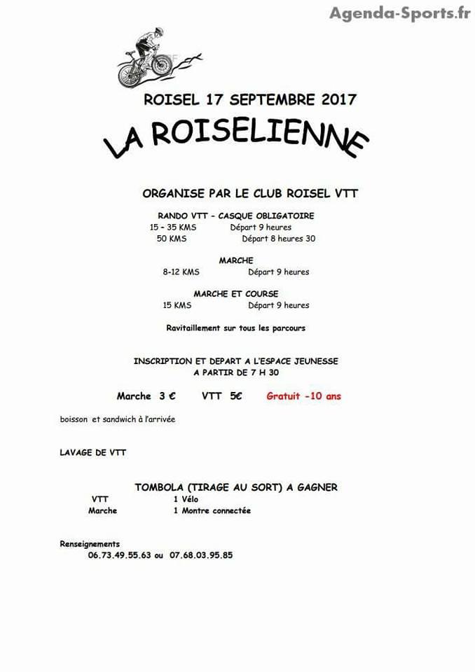 Dimanche 17 septembre La Roiselienne  21752410