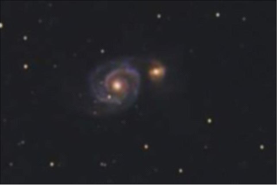 M 51, une première  M51_cr10