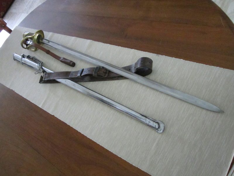 Mes sabres. 1822-810