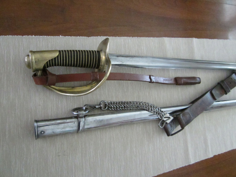 Mes sabres. 1822-812