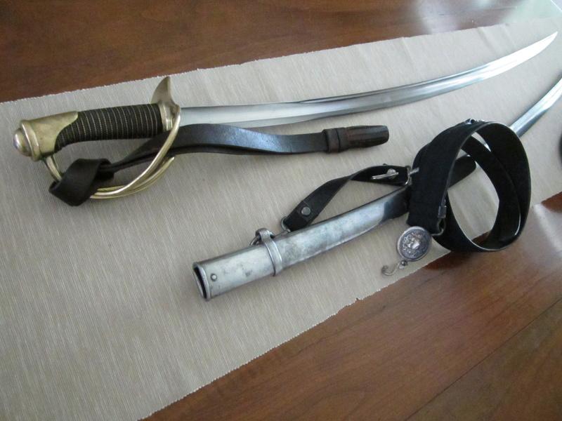 Mes sabres. 1822_310
