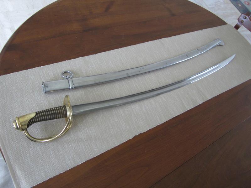 Mes sabres. 510