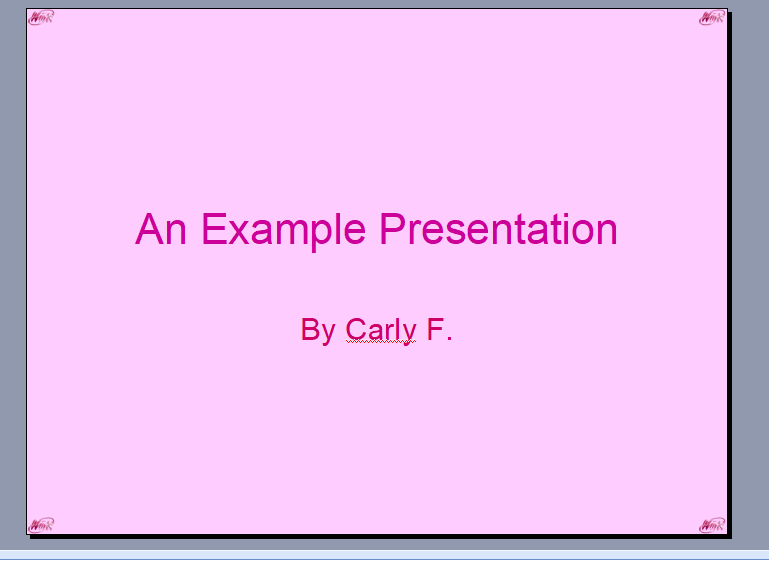 "REG: ""Winx Corporate"" PowerPoint Template Pptx110"