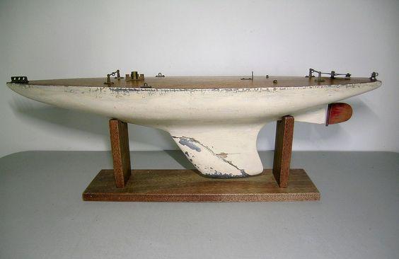 Model Racing Yacht 1930_w10