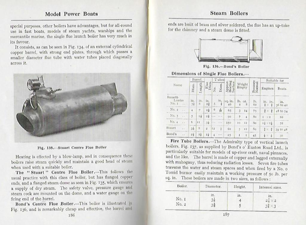 Canot à vapeur 40 Pouces Chaudi10