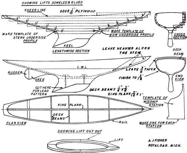 Model Racing Yacht Fisher11