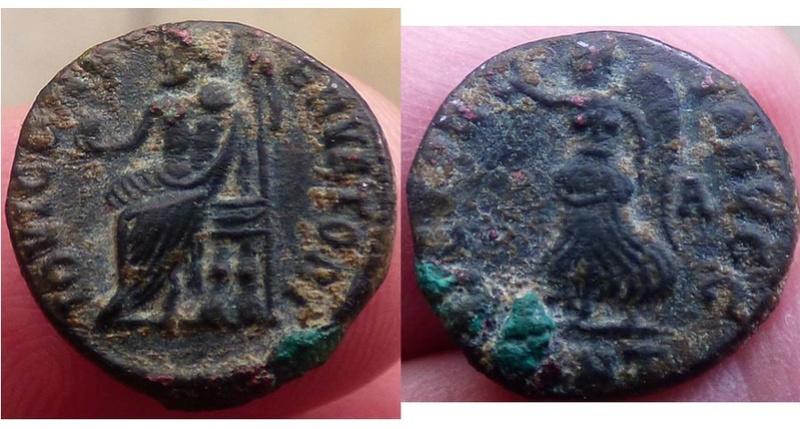 Monnaies d'Antioche. Quelle période? Antioc11