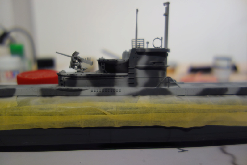 U-Boot TYP VII C/41 Revell 1/144 Dsc03173