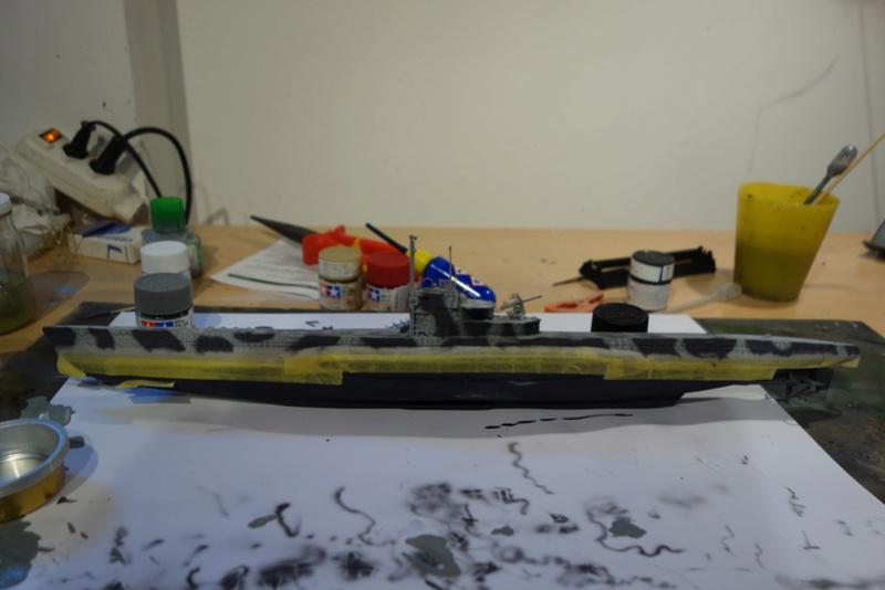 U-Boot TYP VII C/41 Revell 1/144 Dsc03182