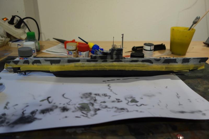 U-Boot TYP VII C/41 Revell 1/144 Dsc03184