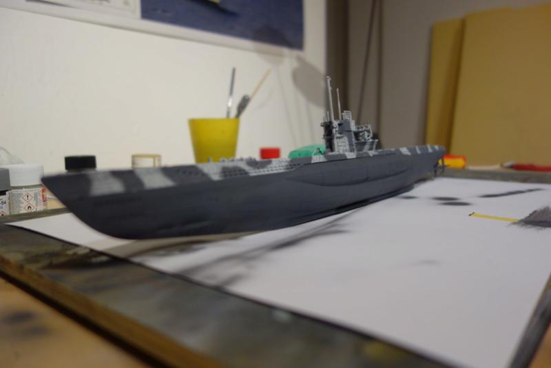U-Boot TYP VII C/41 Revell 1/144 Dsc03188