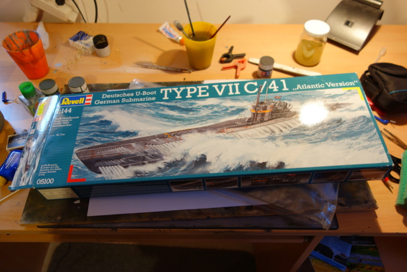 U-Boot TYP VII C/41 Revell 1/144 Dsc03540