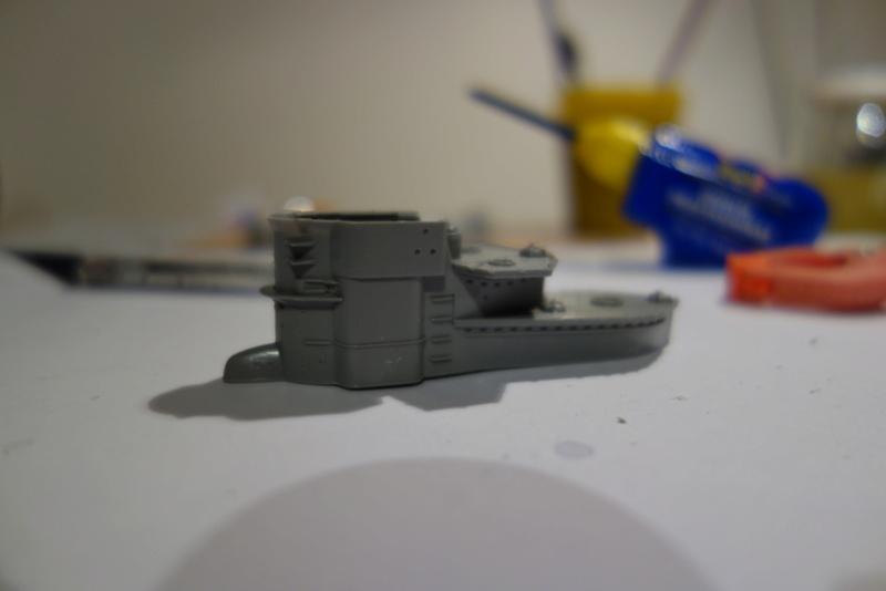 U-Boot TYP VII C/41 Revell 1/144 Dsc03541