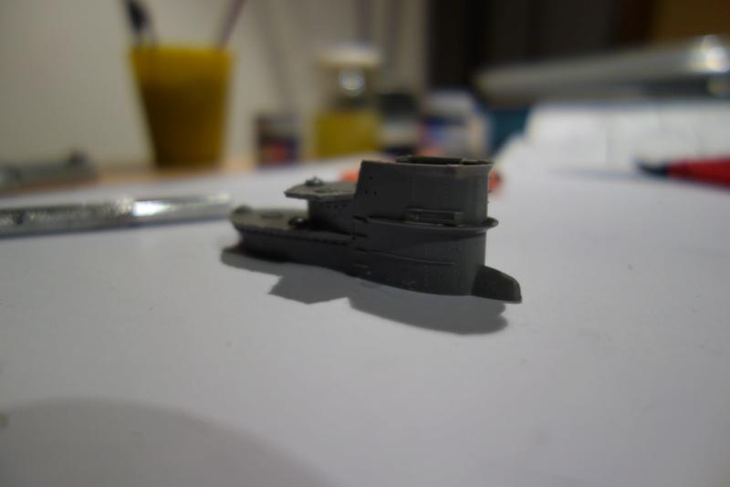 U-Boot TYP VII C/41 Revell 1/144 Dsc03543