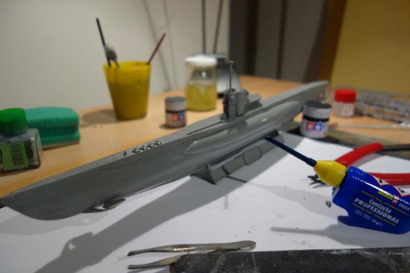 U-Boot TYP VII C/41 Revell 1/144 Dsc03550