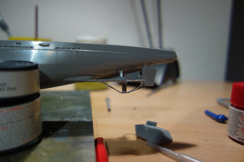 U-Boot TYP VII C/41 Revell 1/144 Dsc03551