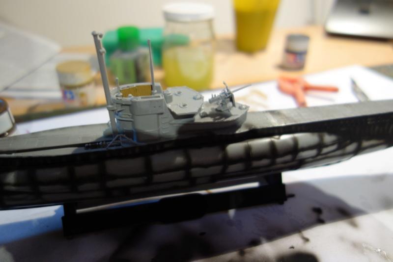 U-Boot TYP VII C/41 Revell 1/144 Dsc03555