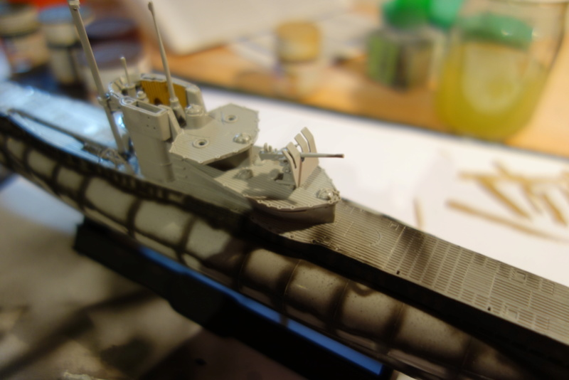 U-Boot TYP VII C/41 Revell 1/144 Dsc03558