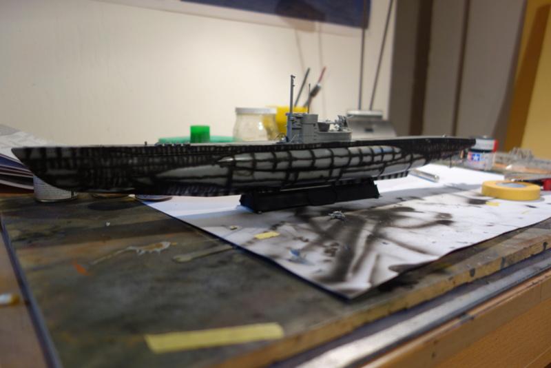 U-Boot TYP VII C/41 Revell 1/144 Dsc03560