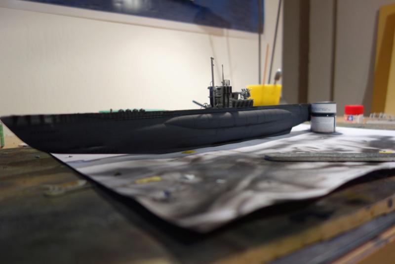 U-Boot TYP VII C/41 Revell 1/144 Dsc03588
