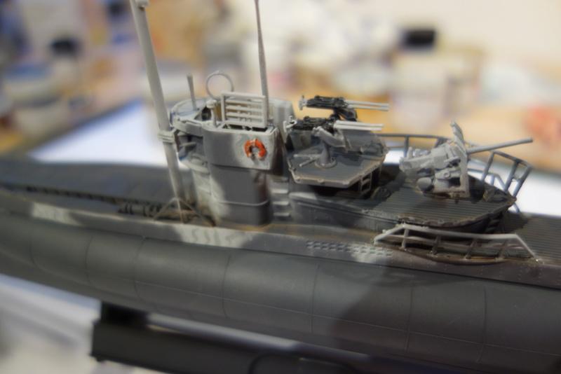 U-Boot TYP VII C/41 Revell 1/144 Dsc03612