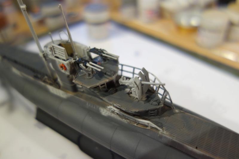 U-Boot TYP VII C/41 Revell 1/144 Dsc03613