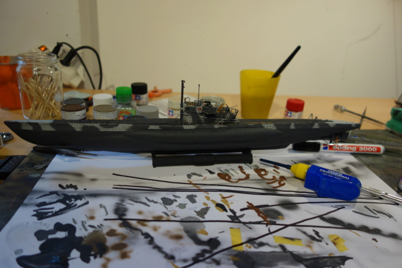 U-Boot TYP VII C/41 Revell 1/144 Dsc03617