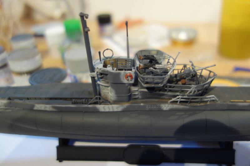 U-Boot TYP VII C/41 Revell 1/144 Dsc03618