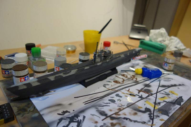 U-Boot TYP VII C/41 Revell 1/144 Dsc03619
